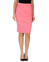 Pinko Black Skirts Knee Length Skirts Women Coral