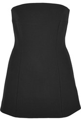 Georgia Alice Void Twill Bustier Top Black