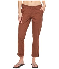 Prana Mari Capris Tree Bark Women's Capri Tan