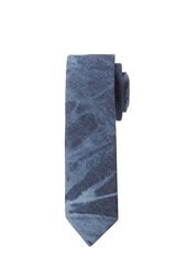 Forever 21 Bleached Denim Tie