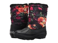 Chinese Laundry Below Zero Floral Multi Nylon Women's Boots Black