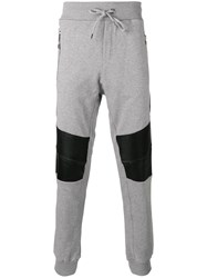 Philipp Plein Proof Track Pants Grey