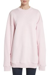 Marques Almeida Women's Marques'almeida Oversized Sweatshirt Pale Pink
