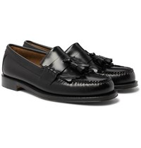 G.H. Bass Weejuns Layton Kiltie Moc Ii Leather Tasselled Loafers Black