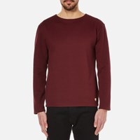 Armor Lux Men's Terry Towelling Top Chianti Burgundy