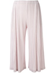 Issey Miyake Pleats Please By Pleated Trousers Women Polyester 3 Pink Purple