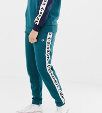 Converse Jogger With Tape Side Stripe Exclusive To Asos Green