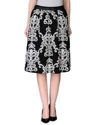 Devotion Skirts Knee Length Skirts Women Black