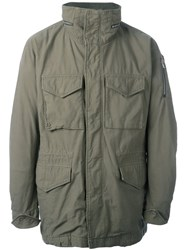 Attachment Patch Pocket Jacket Green