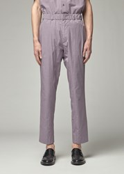 Stephan Schneider 'S Formido Trouser Pants In Lilac Size Iii 100 Cotton