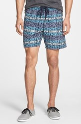 Men's Volcom 'Queto' Walking Shorts Navy