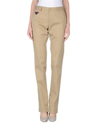 Moschino Trousers Casual Trousers Women Beige