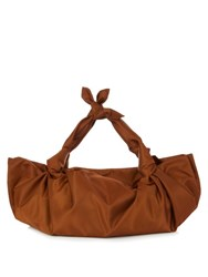 The Row The Ascot Nylon Tote Tan