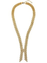 Giuseppe Zanotti Gold Colored Collar Necklace
