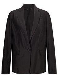 Jigsaw Feather Jacket Black