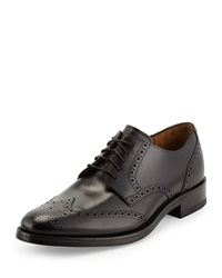 Cole Haan Madison Wing Tip Oxford Lace Up Black