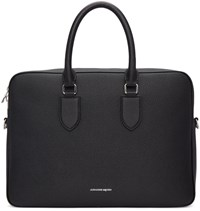 Alexander Mcqueen Black Thin Briefcase