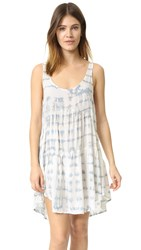 Blue Life Babydoll Tank Dress Maldives