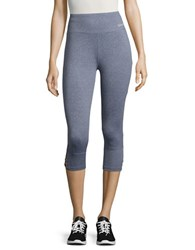 Bench Cropped Cutout Active Leggings Blue