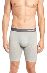 Tommy John Cool Cotton Boxer Briefs Grey Heather