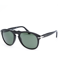 Persol Eyewear Persol 649 Aviator Sunglasses Black