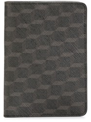 Pierre Hardy Geometric Print Wallet Black