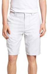 O'neill Men's Delta Glen Plaid Shorts White
