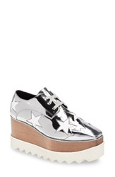 Stella Mccartney Women's Platform Oxford Silver