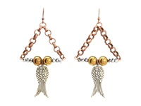 Vilma Kere Designs Angel Wing Earrings Brass Earring Bronze