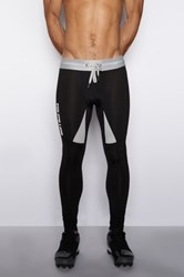 C In2 Reflective Fitted Pant Black