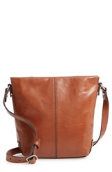 Treasure And Bond Jessie Leather Crossbody Bag Brown Brown Toffee
