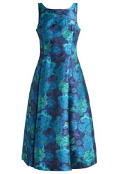 Adrianna Papell Cocktail Dress Party Dress Blue Multi