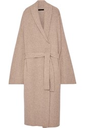 The Row Meryl Cashmere Blend Cardigan Beige