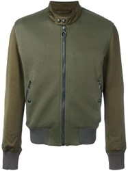 Lanvin Zip Up Jacket Green
