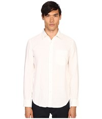 Jack Spade Ferry Trapunto Point Collar Shirt White Men's Clothing