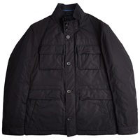 Boss Logo Boss Calasso Field Jacket Dark Blue