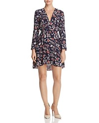 Ella Moss Floral Print Dress Natural Print