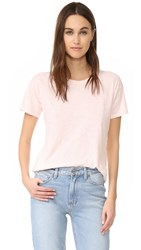 Madewell Whisper Crew Neck Tee Weathered Pink