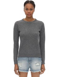 Zadig And Voltaire Crewneck Cashmere Knit Sweater Grey