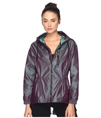 Puma Explosive Jacket Plum Perfect Iridescent Women's Coat Purple