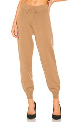Theory Relaxed Track Pant Tan