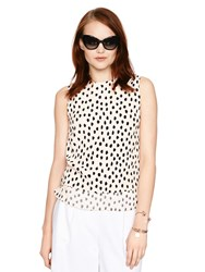 Kate Spade Leopard Dot Layered Tank