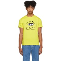 Kenzo Yellow Limited Edition Cupid T Shirt