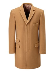 Skopes Men's Hugo Overcoat Camel