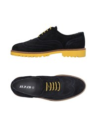 At.P. Co At.P.Co Lace Up Shoes Black