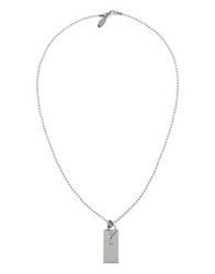 Moschino Cheap And Chic Moschino Cheapandchic Necklaces Silver