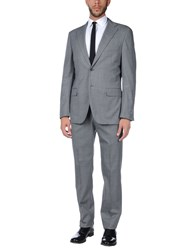 Belvest Suits Grey