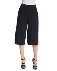 Alice Olivia Marlena Low Rise Gaucho Pants Black