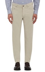 Ermenegildo Zegna Men's Five Pocket Jeans Nude