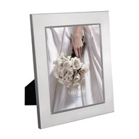 Vera Wang Wedgwood Grosgrain Silver Photo Frame 8X10